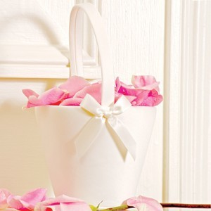 Sweet Bow Flower Basket